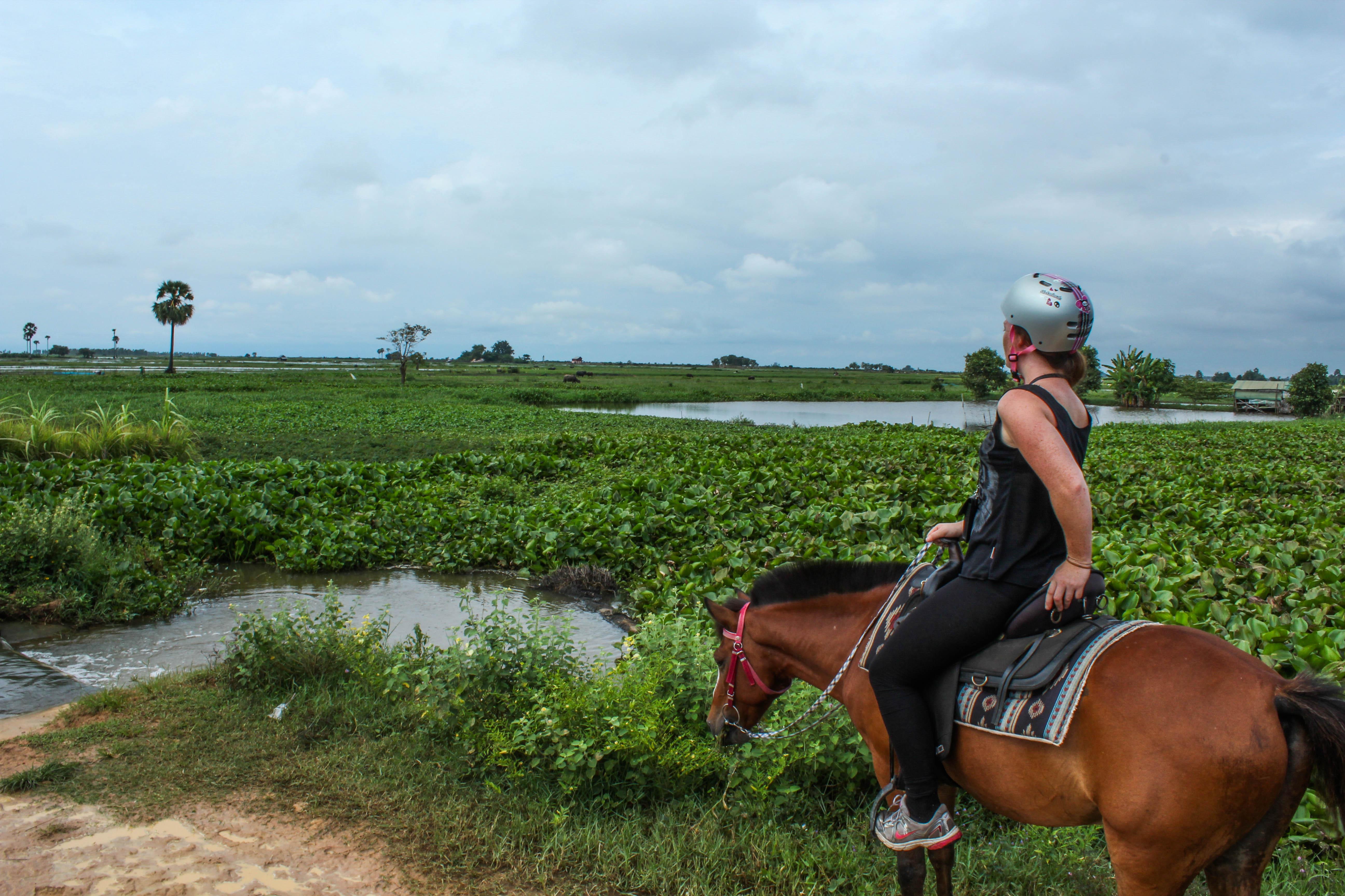 Ridning Kambodja