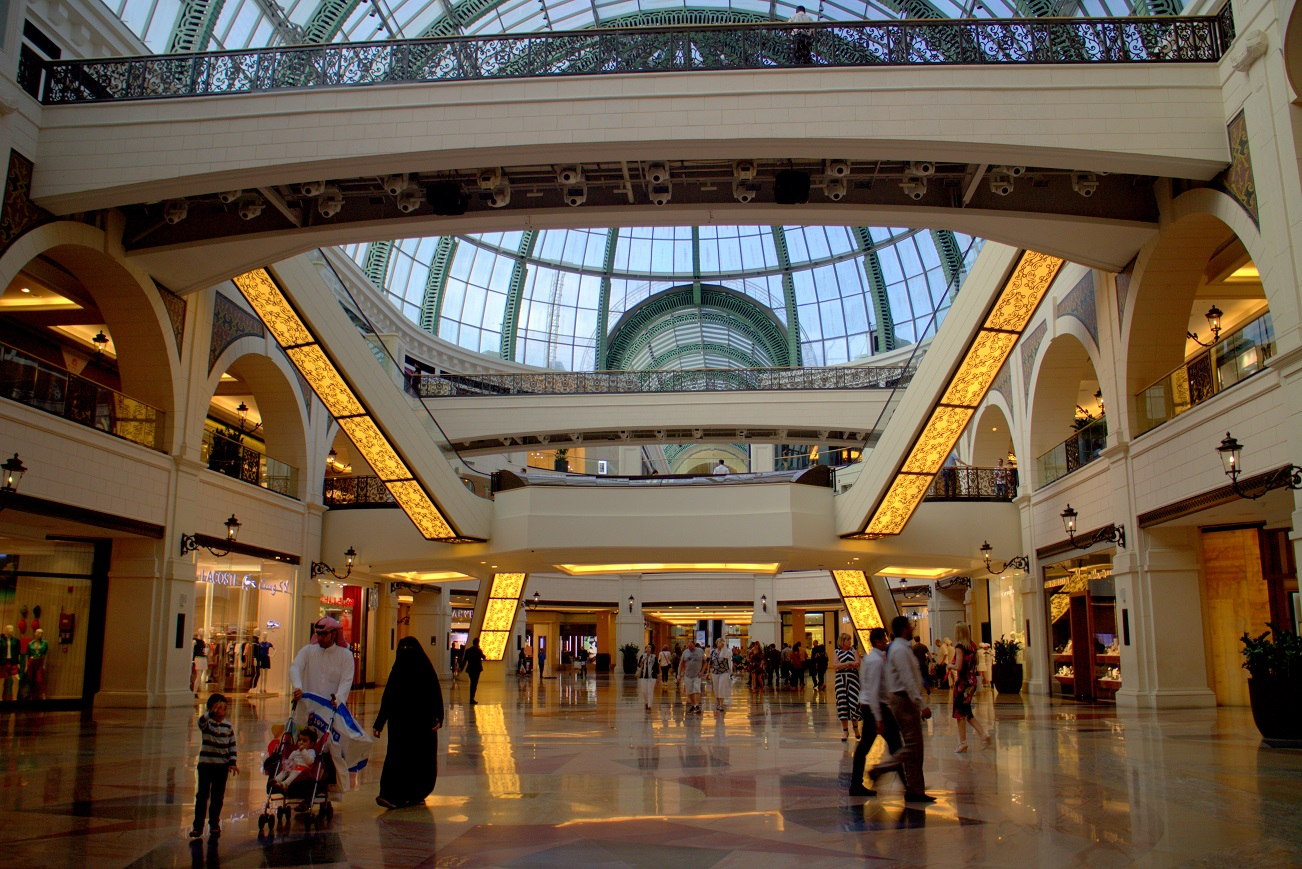 Mall of the Emirates. Photo: Josefine Nilsson