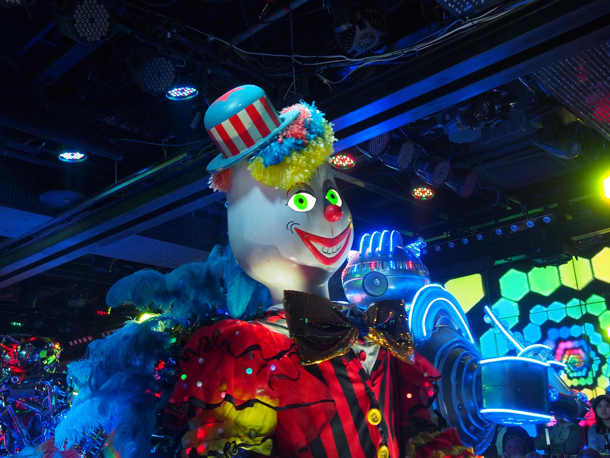 Robotshow. Foto: Amanda Sundin