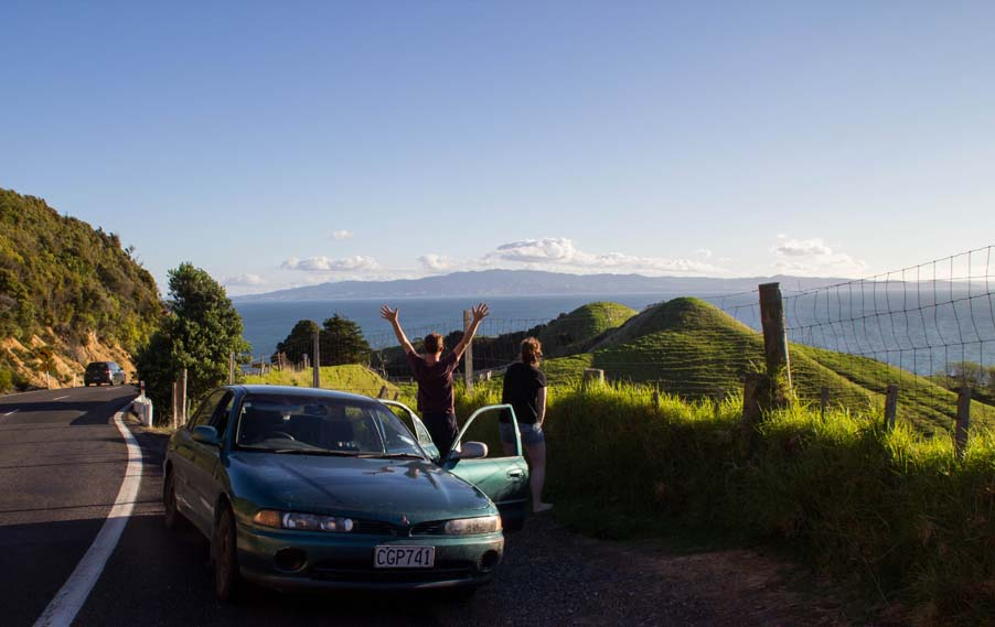 Coromandel coast. Photo: Emelie Enlund