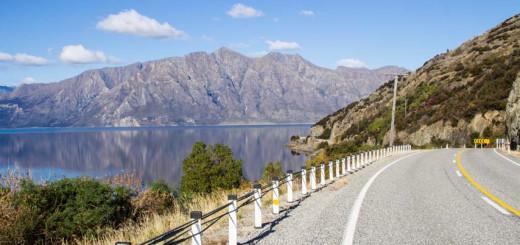 Roads towards Wanaka. Photo: Patrik Enlund