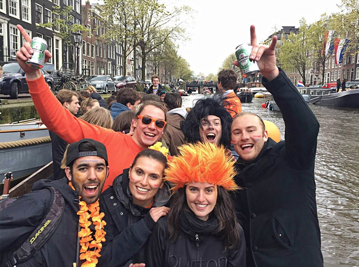 All people behind Global Degree in Amsterdam. Photo: Global Degree