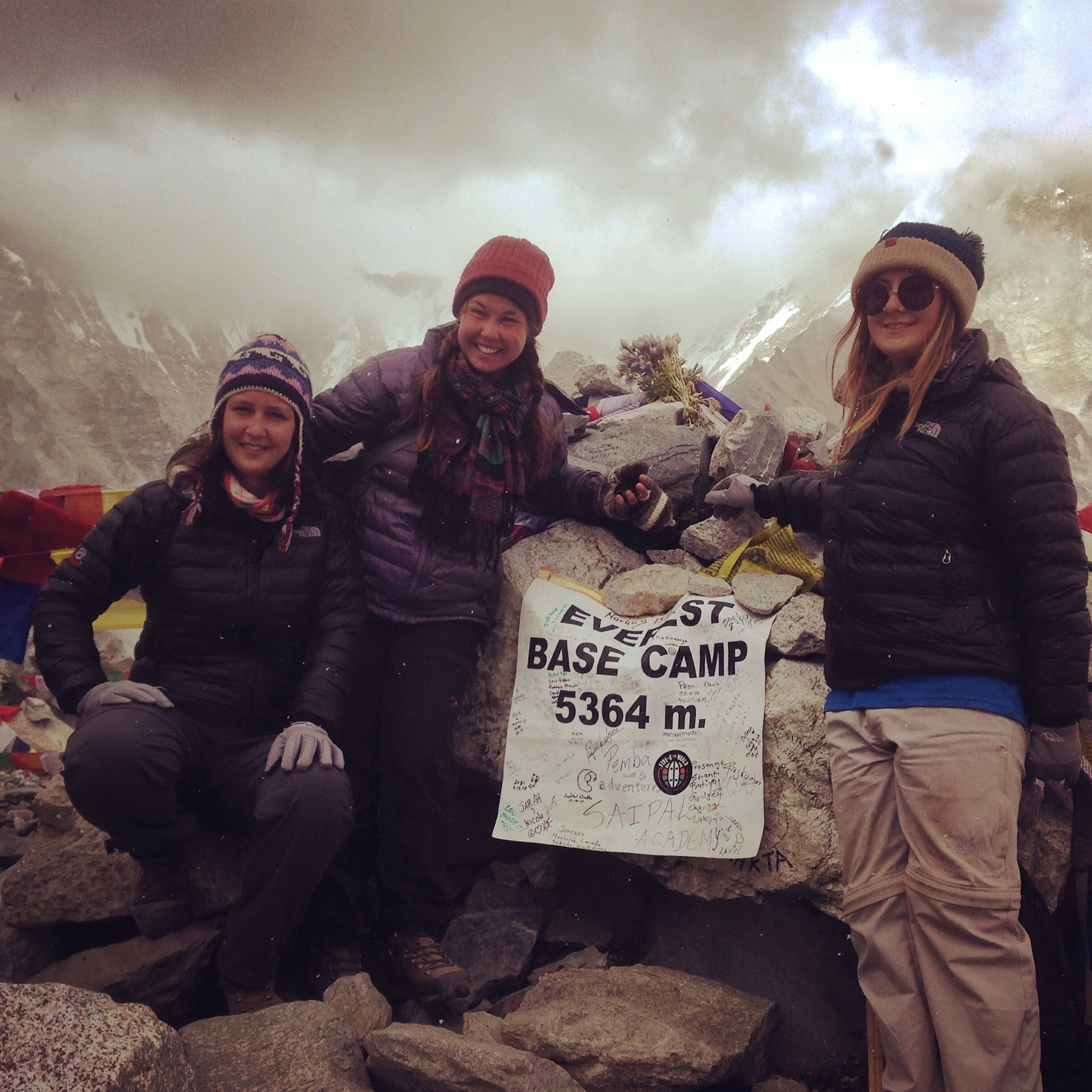 At the basecamp. Photo: Private