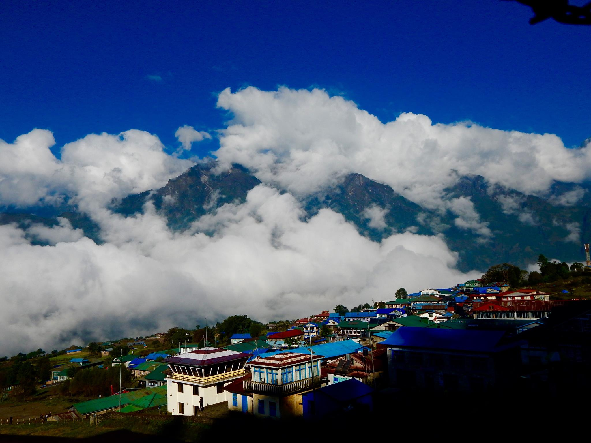 Lukla – where we started the trek. Photo: Private