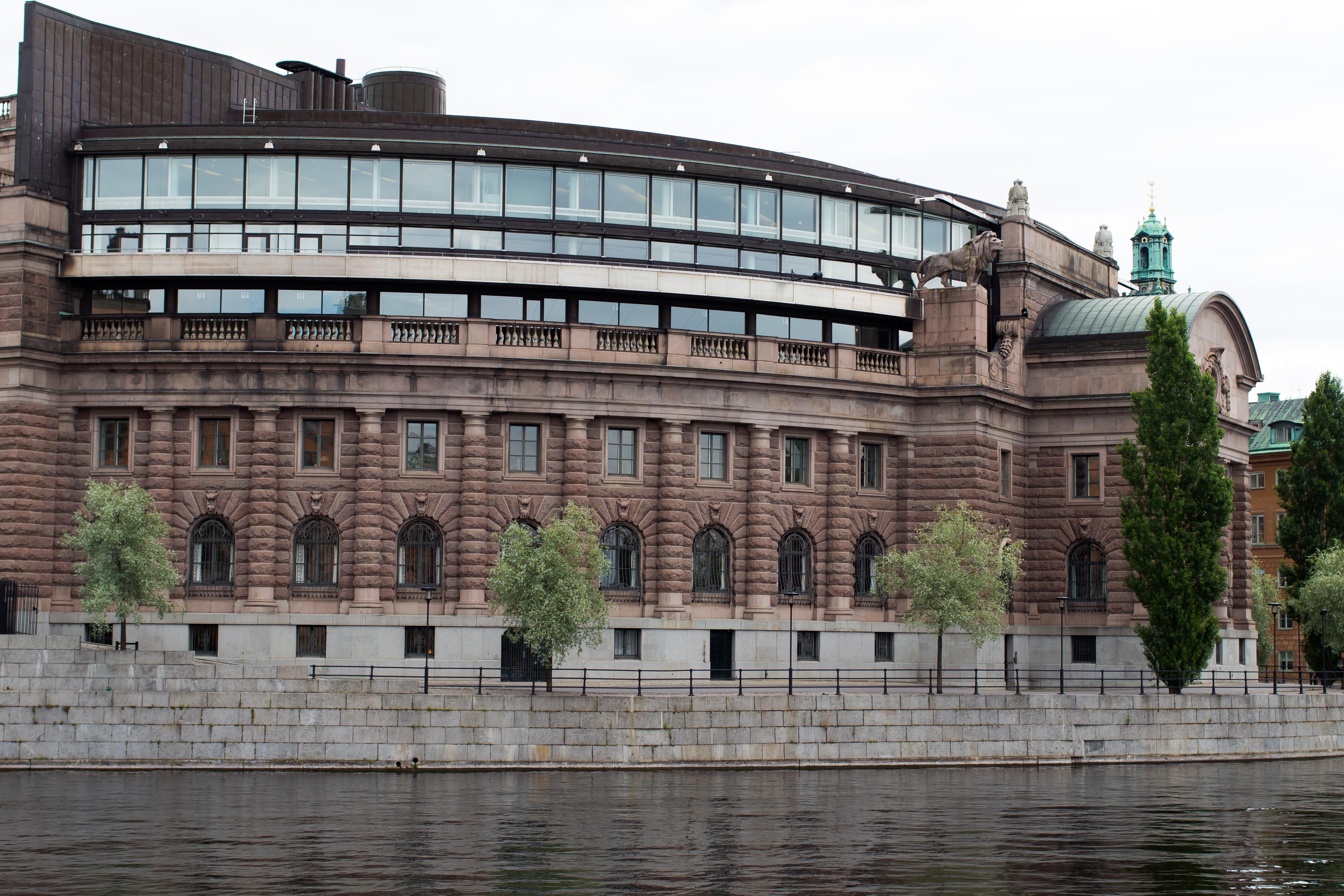 Sveriges Riksdag. Foto: Håkan Dahlström/Flickr
