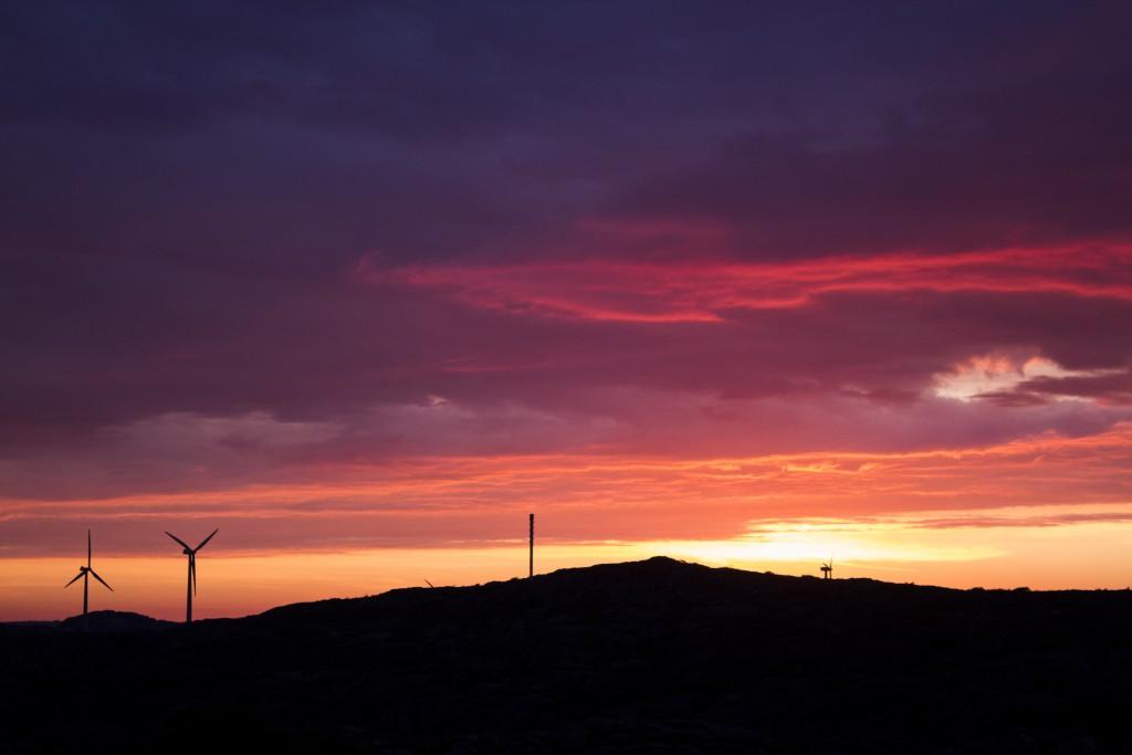 Dag 2: Soluppgång kl. 4.28 i Lysekil på den svenska västkusten. Foto: Mari Gutic