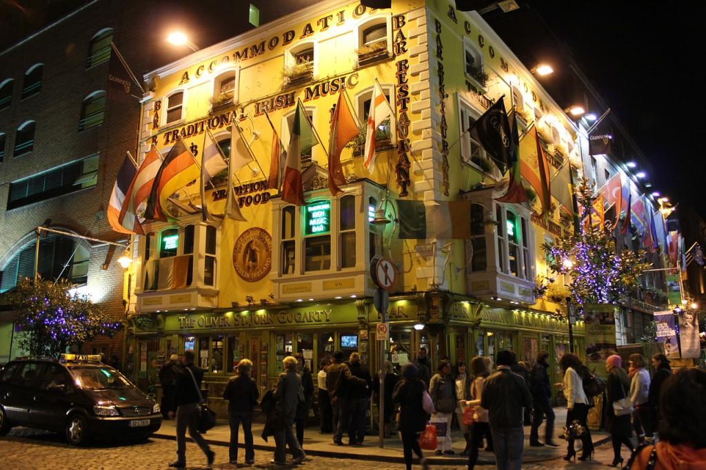 I Dublin provade jag min första pint med Guinness. Bild: pixabay.com