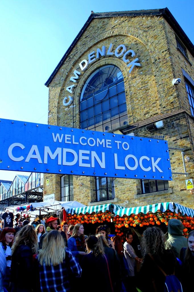 I London bodde jag minuter från välkända Camden Lock Market. Foto: Josefine Nilsson