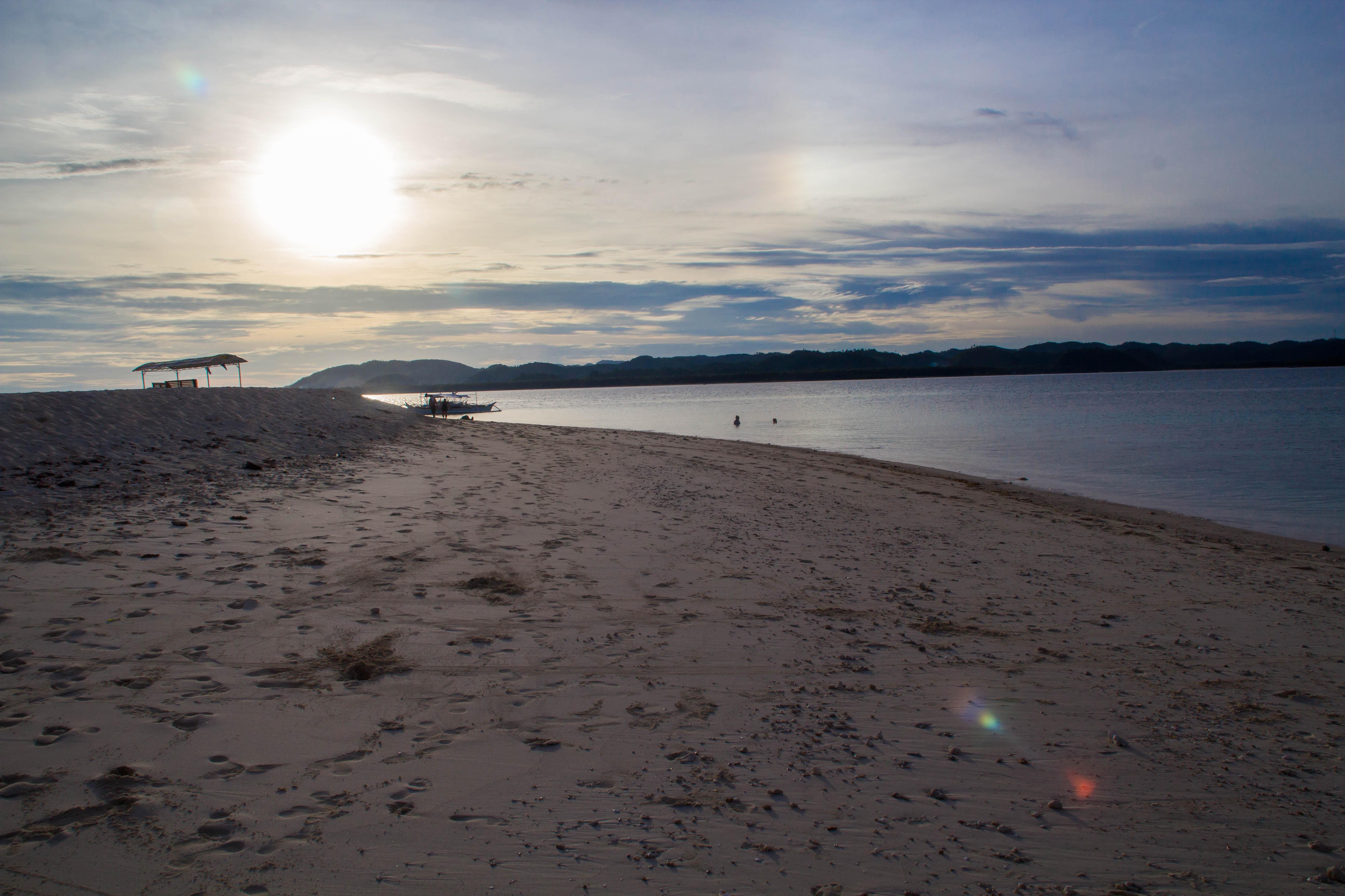 Solnedgång på Naked Island. Foto: Patrik Enlund