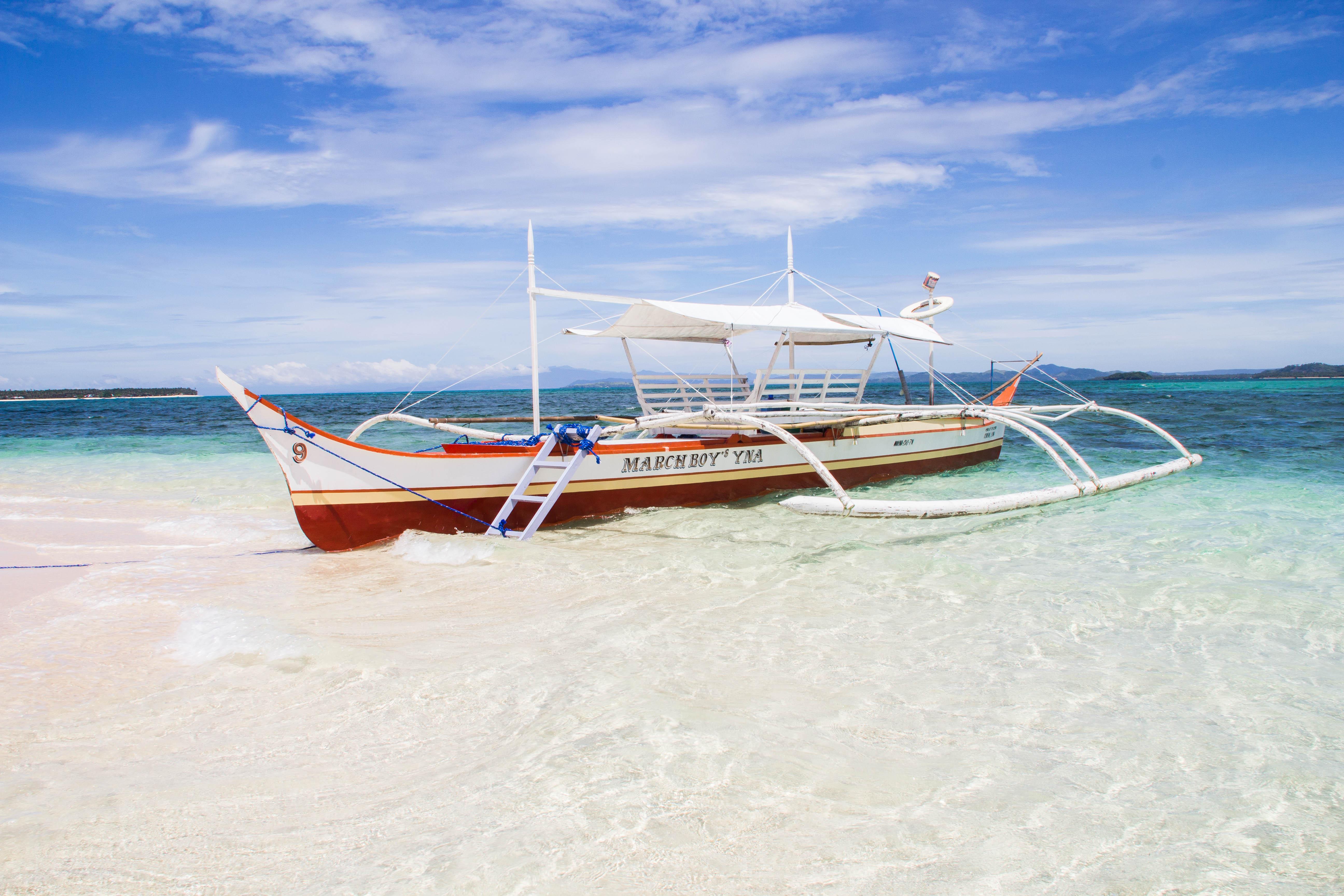 Klassisk filippinsk båt. Foto: Patrik Enlund