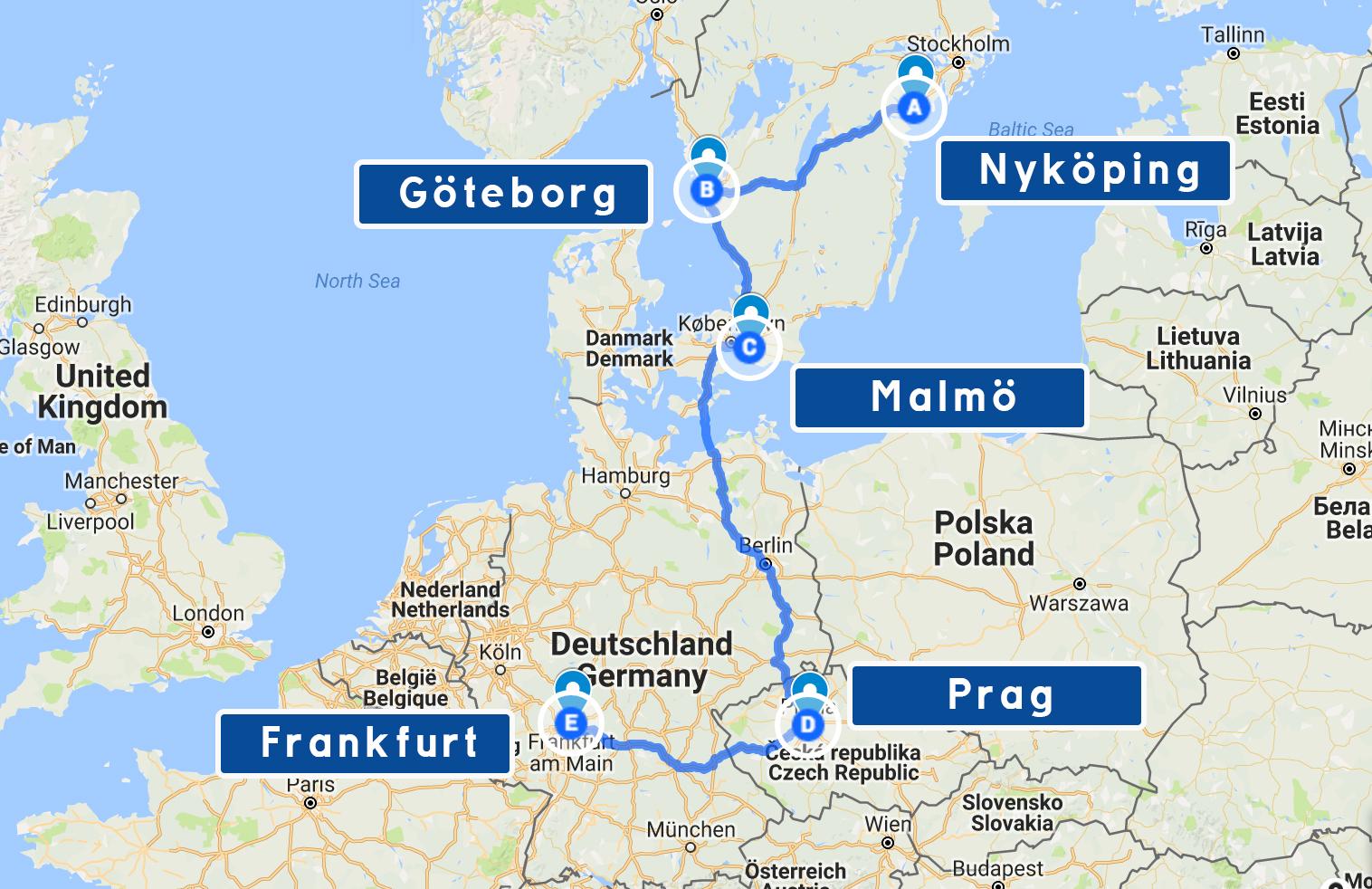 karta tyskland frankfurt Nytt äventyr: Nu behöver Patrik DIN hjälp att ta sig till Frankfurt karta tyskland frankfurt