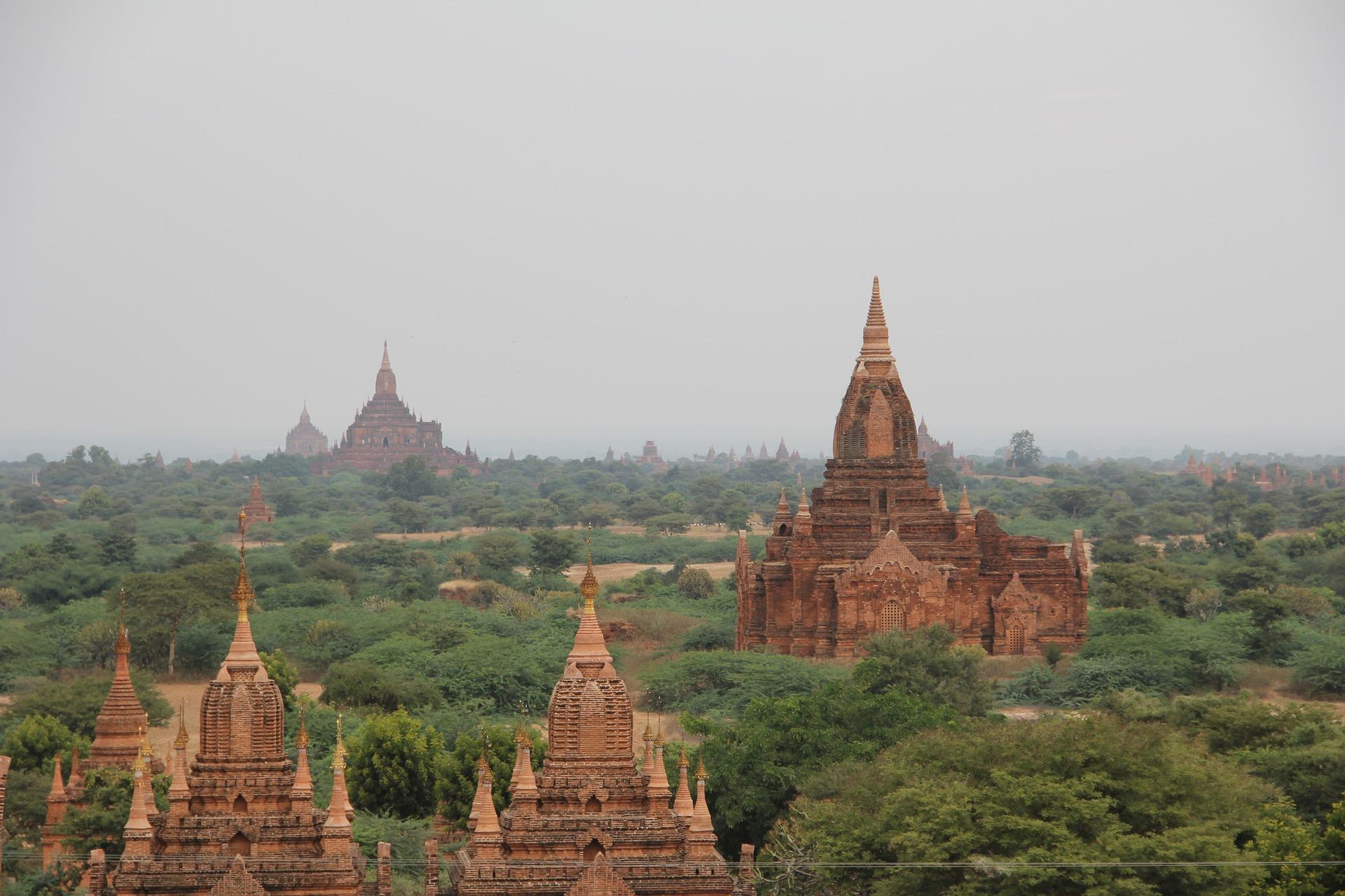 Tempel i Burma