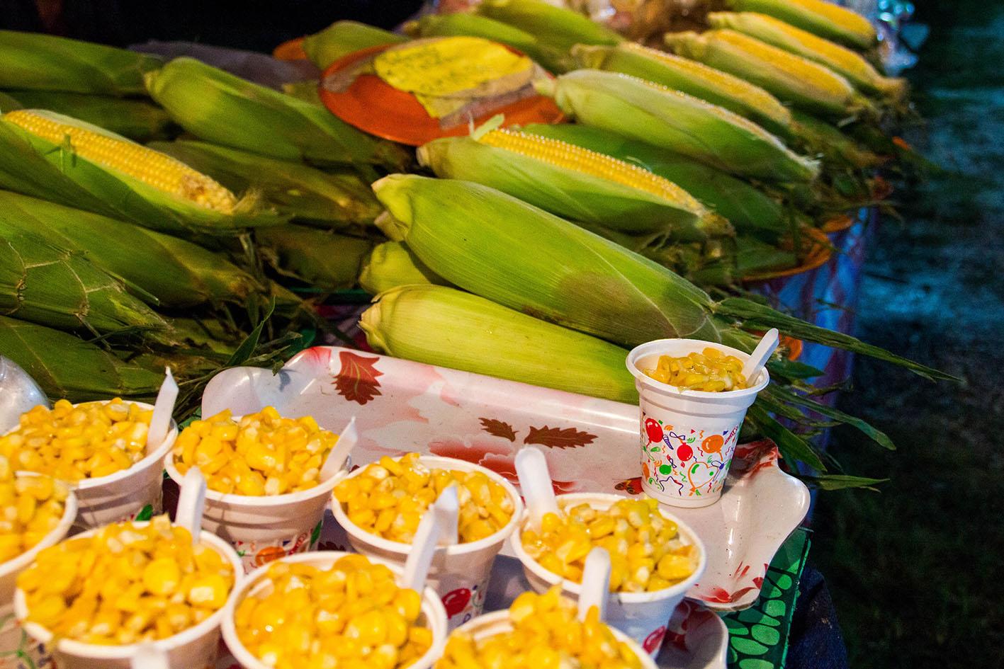 Sweet corn.