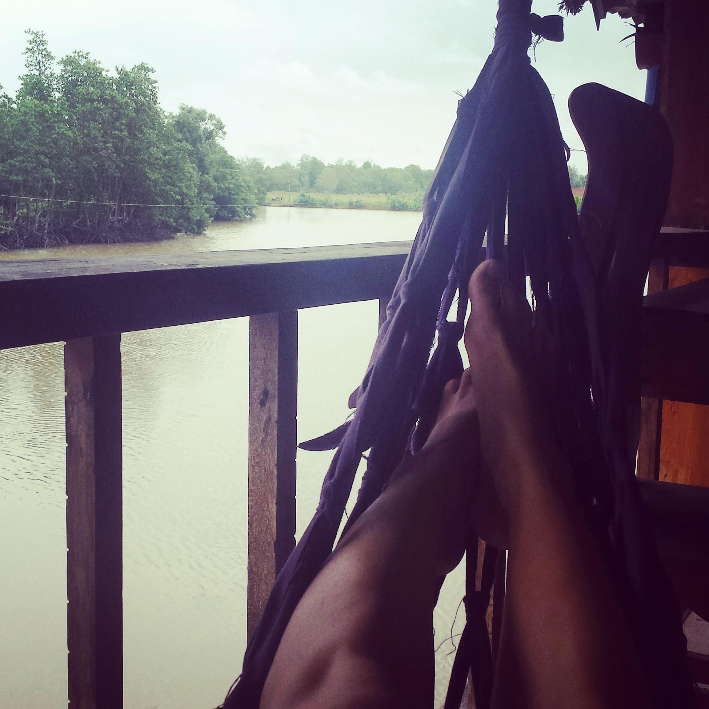 Livet i en hängmatta
