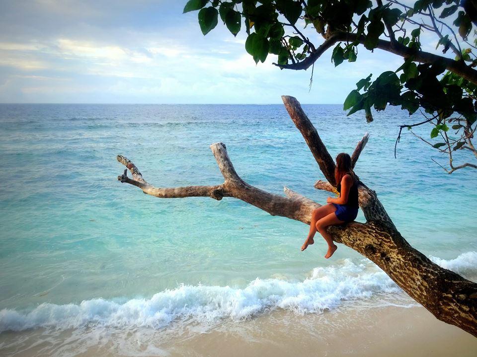 Bodde på en avlägsen paradisö i norra Fiji. Foto: Josefine Nilsson