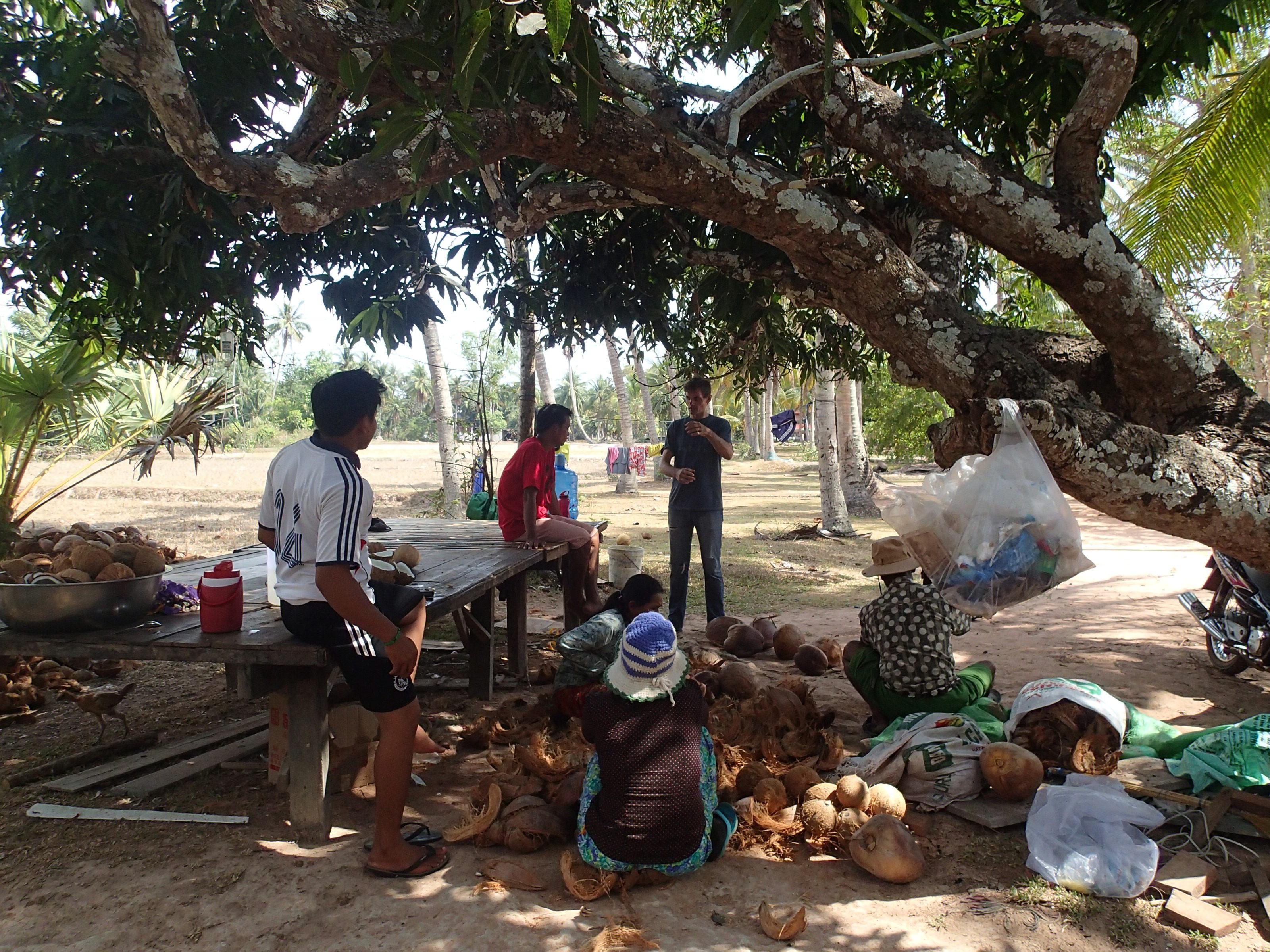 Nånstans nära Kampot för tre år sedan