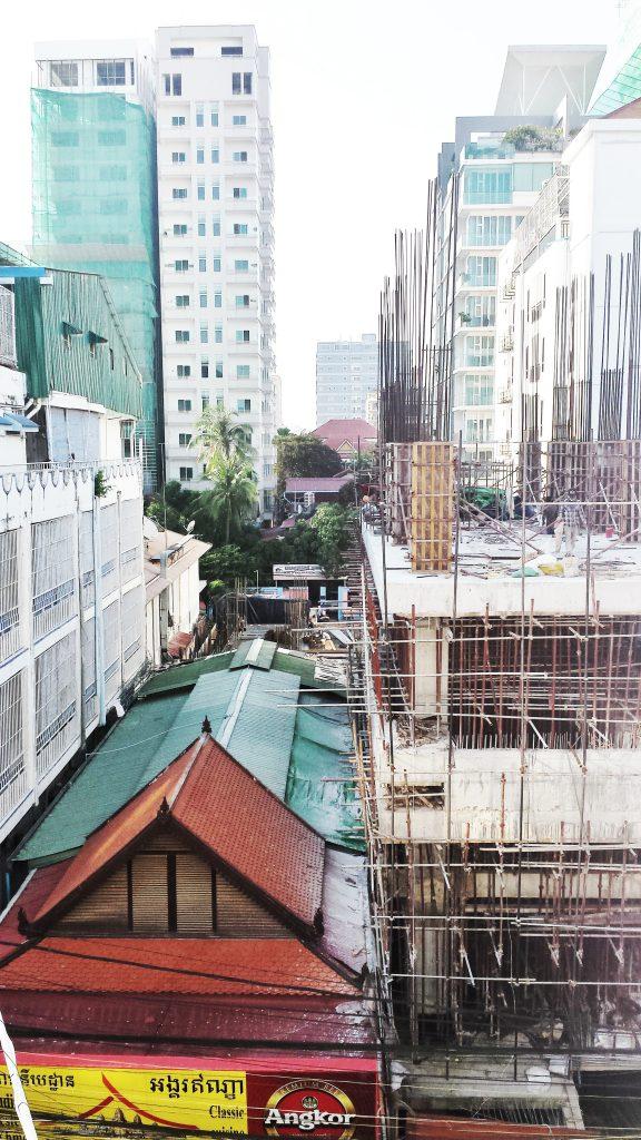 Utsikten från hotellet