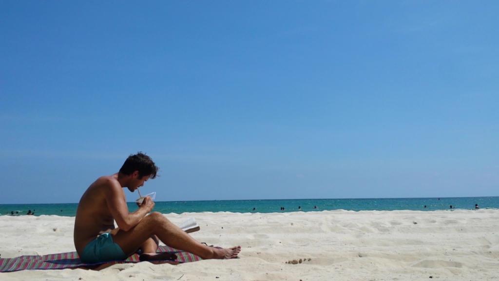 Fritid är strandtid