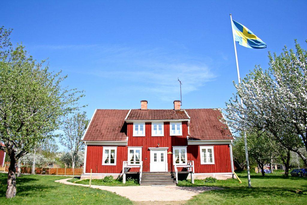 En sann svensk idyll nära sjöar och en å.