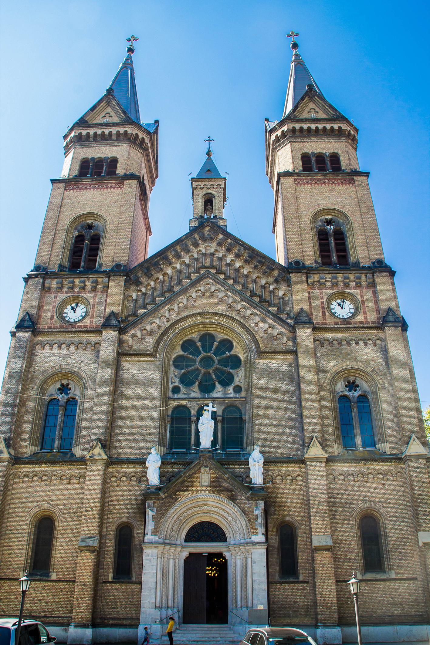 """Katolska kyrkan """"Biserica romano-catolică Millenium""""."""