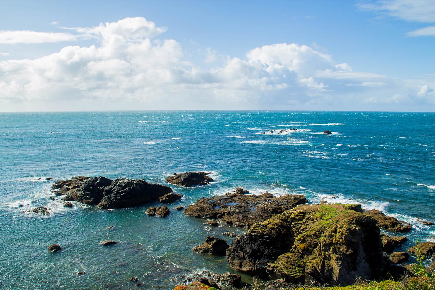 Klipporna där ute är den riktigt äkta sydligaste punkten på Englands fastland.