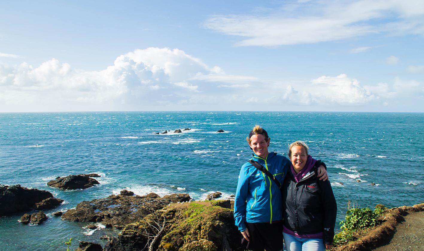 Turistfoto vid sydligaste udden: Check!