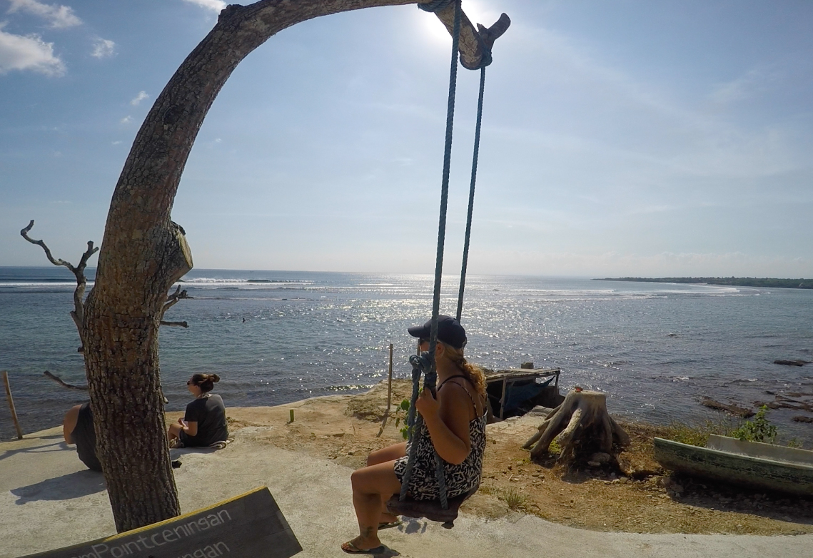 Dream Point på ön Ceningan.