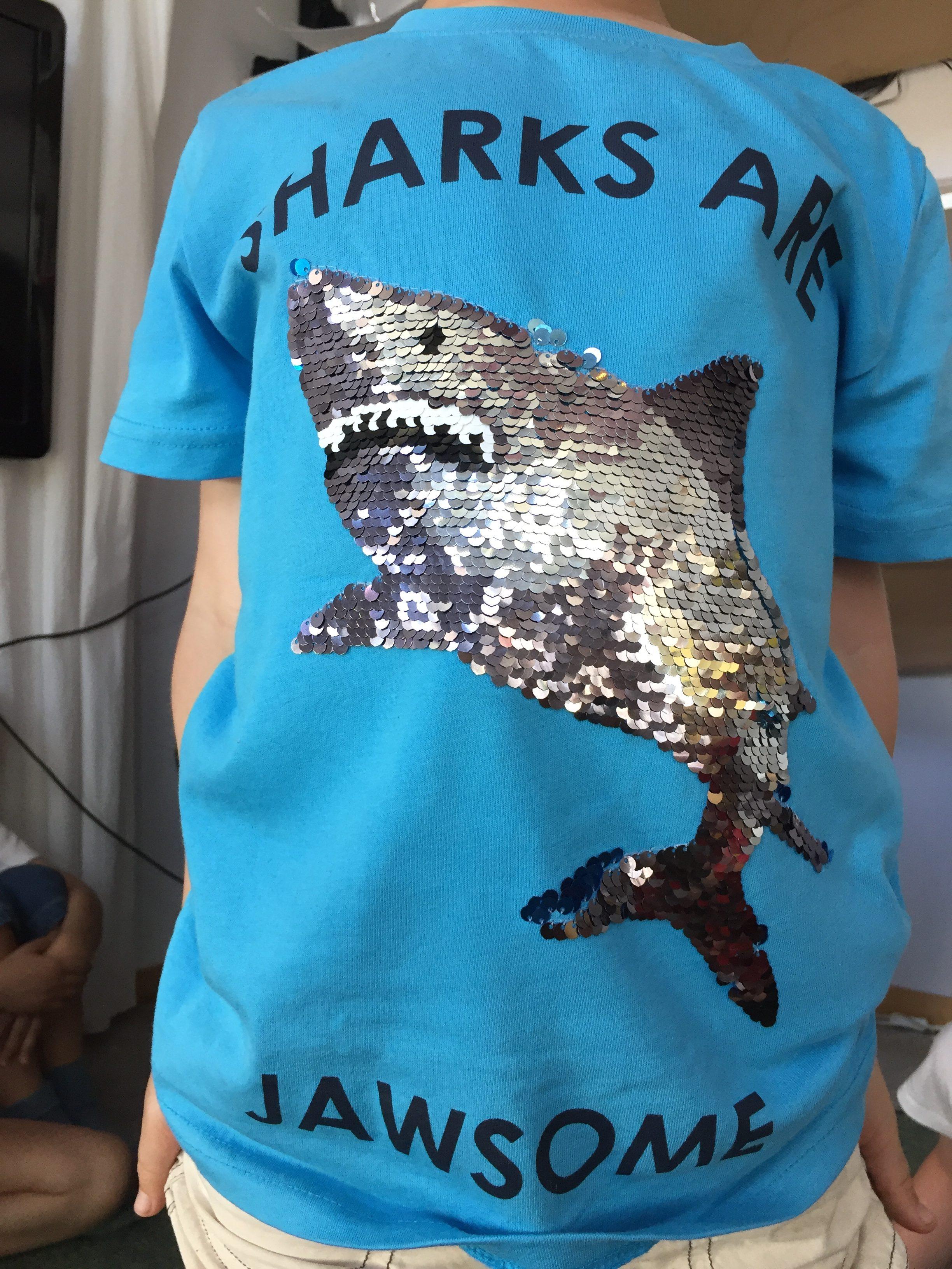 Ett av barnen bar en t-shirt med detta tryck. Jag blev lite tårögd.