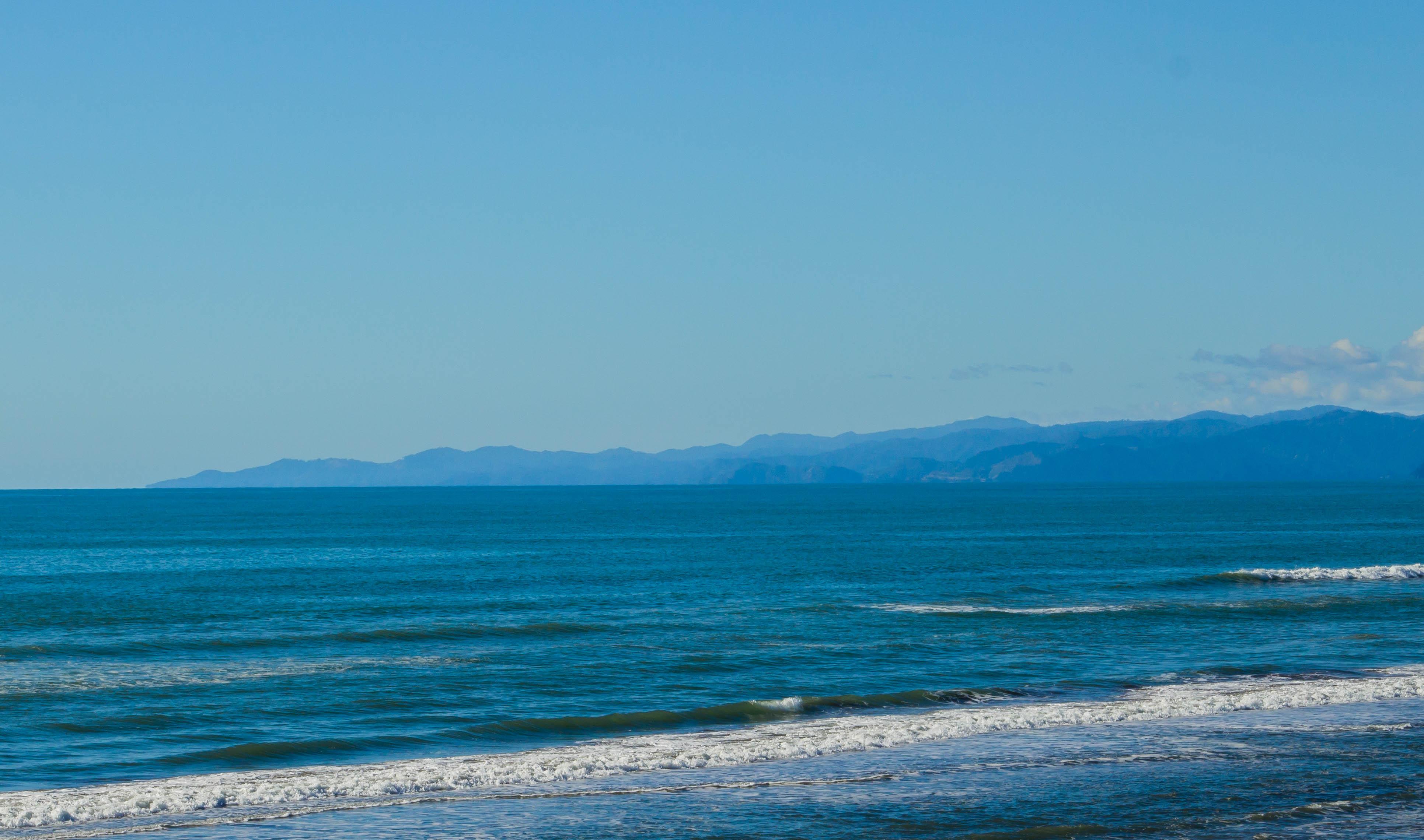 East Cape långt där borta.